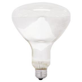 GE 14016  65R40/FL/MI 65 Watt BR40 Reflector Flush, Medium (E26) Base, Soft White 2600K