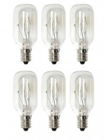 15 Watt Salt Lamp Bulb (Night Light) - 6 pack