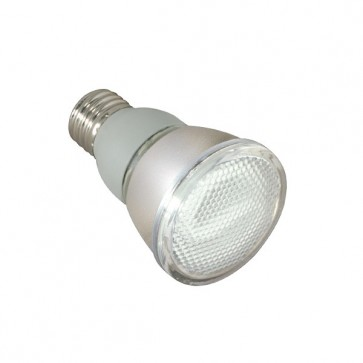 Satco S7421  11PAR20/27/230V 11 watt PAR20 Compact Fluorescent 2700K 82 CRI Medium base 230 volts