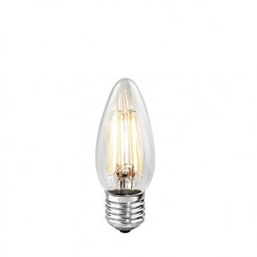 Bulbrite 776557 LED4B11/27K/FIL 4-Watt LED Filament B11 Chandelier Bulb, 40W Equivalent, Medium Base, Warm White