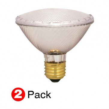 Satco S2268 60 watt Halogen PAR30 Clear 1500 Average rated Hours 1090 Lumens Medium base 120 volts 2-Pack