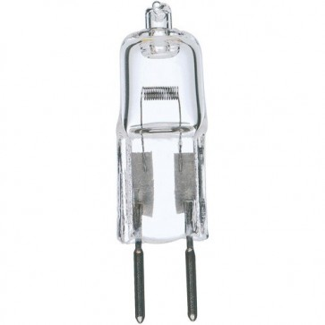 Satco S3171 10 watt Halogen T3 Clear 2000 Average rated Hours 120 Lumens Bi Pin G4 base 12 volts