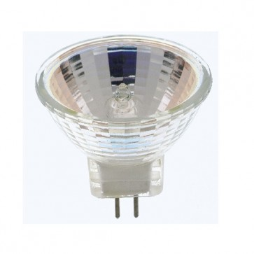 Satco S4629 10 watt Halogen MR11 2000 Average rated Hours Sub Minature 2 Pin base 6 volts