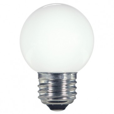 Satco S9159 1.4W G16.5/WH/LED/120V/CD 1.4 watt LED G16 1/2 White 2700K Medium base 120 volts