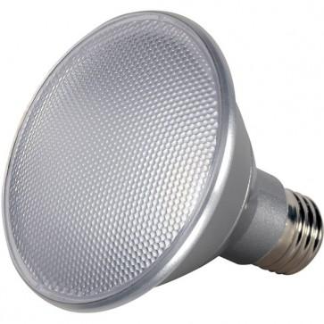 Satco S9411  13PAR30/SN/LED/25'/3000K/120V/D  13 watt PAR30 Short Neck LED 3000K 25' beam spread Medium base 120 volts