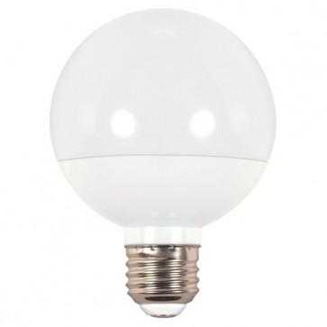 Satco S9200 6G25/LED/2700K/450L/120/D 6 watt G25 Globe LED 2700K Medium base 120 volts