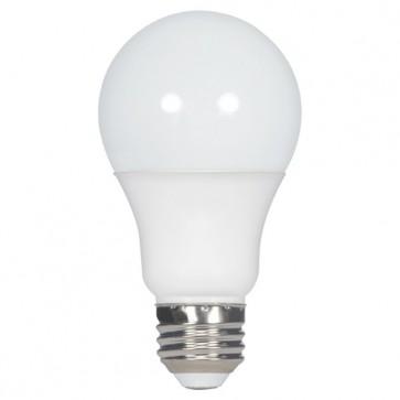 Satco S9835  9.5A19/OMNI/220/LED/27K  9.5 watt A19 LED 2700K Medium base 220' beam spread 120 volts