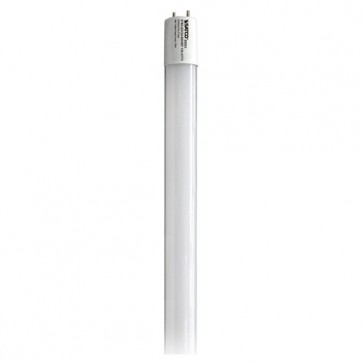 Satco S9903  9T8/LED/24-850/BP 120-277V  9 watt T8 LED 5000K Medium Bi Pin base 50000 Average rated hours 1150 Lumens