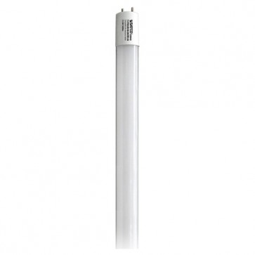 Satco S9940  11.5T8/LED/48-840/DR-DM  11.5 watt T8 LED Medium bi-pin base 4000K 50000 average rated hours 1800 lumens