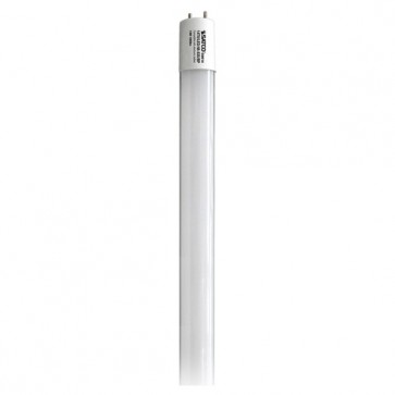 Satco S9947  8T8/LED/24-835/DR  8W T8 LED 3500K Medium Bi Pin base 50000 Average rated hours 1200 Lumens Type A Ballast dependent