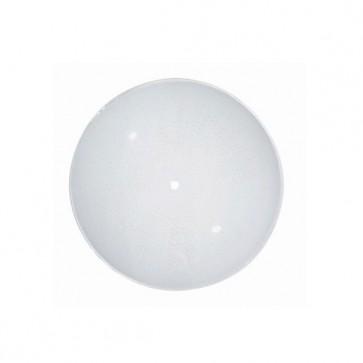 Satco 50-308  50-308  Sunburst Pattern Regular Bend Glass Dia. 17'' Depth: 2 1/2''