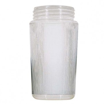 Satco 50-724  50-724  Lexan® Prismatic Cylinders Dia. 3 3/4'' Screw Fitter: 3 11/64'' Ht. 7 1/4''