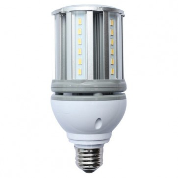 Satco S9754  14W/LED/HID/5000K/12V-24V E26  14 watt LED HID Replacement 5000K Medium base 12-24 volts