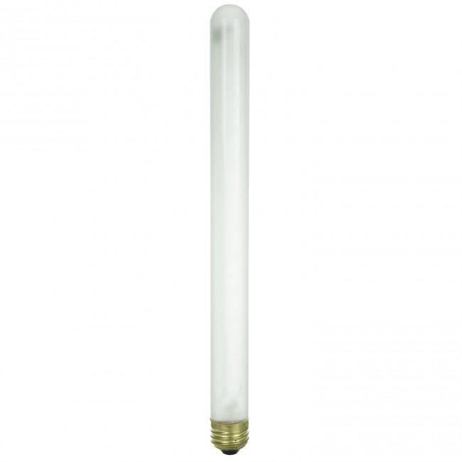 Medium Based Sunlite 40T8//CL Incandescent 40-Watt Clear T8 Tubular Bulb