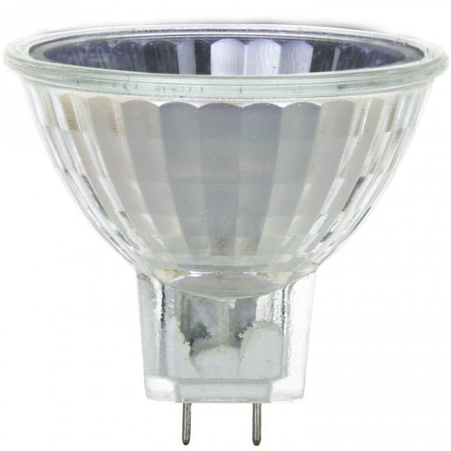 Sunlite 50MR16//FL//12V//SB 50-Watt Halogen MR16 GU5.3 Based Mini Reflector Bulb Silver Back