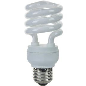 SUNLITE 00612 SMS13/27K/E/CD1 13 Watt Super Mini Spiral   Medium (E26) Base, Warm White