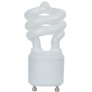 SUNLITE 00650 SL11/E/GU24/27K 11 Watt Sprial   GU24 Base, Warm White