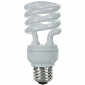 Sunlite 00829 SMS23/E/27K/CD 23 Watt Super Mini Spiral Energy Saving Light Bulb, Medium Base,Warm White