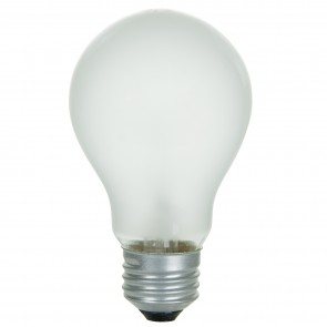 Sunlite 01045  40 Watt A19 Household Light Bulb, Medium Base, Frost, 4 Pack