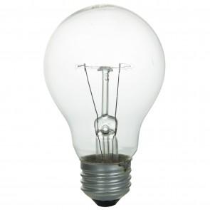 Sunlite 01101  40A/CL/2PK 40 Watt A19 Household Light Bulb, Medium Base, Clear, 2 Pack