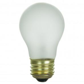 Sunlite 02030, 15A15/FR 15 Watt A15 Appliance Light Bulb, Medium Base, Frost