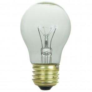 Sunlite 02045 40A15/CL 40 Watt A15 Appliance Light Bulb, Medium Base, Clear