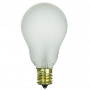 Sunlite 02092  60A15/N/FR/CD2 60 Watt A15 Appliance Light Bulb, Intermediate Base, Frost, 2 Pack