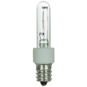 Sunlite 03505 KX20E12/CL 20 Watt T3 Light Bulb, Candelabra (E12) Base