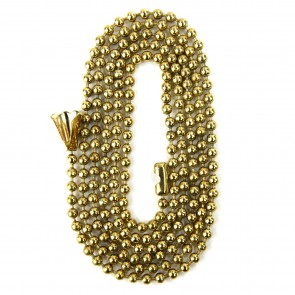 Sunlite 04000 E170 Brass Beaded chain