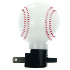 Sunlite 04041 E165 White Baseball Decorative Night Light