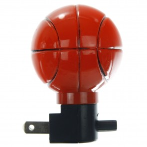 Sunlite 04042 E166 Orange Basketball Decorative Night Light