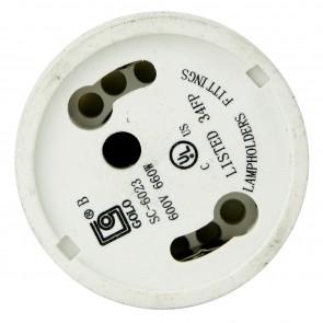 Sunlite 04051 E134 Medium (E26) To GU24 Base Adapter