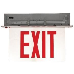 Sunlite 04328 EXIT/EDGE/RC/1RF/CL/AL/EM  New York Approved LED Emergency Exit Sign