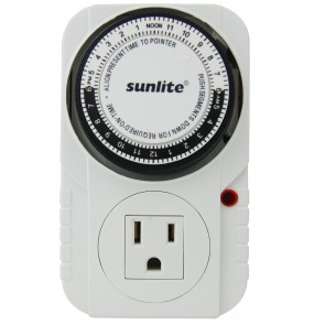 Sunlite 05003 T200  24 Hour (1725W Max) Heavy-Duty Appliance Timer