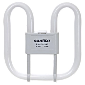Sunlite 05735 F21/2D/835/4P 21 Watt 2D Lamp, GR10Q Base, Neutral White