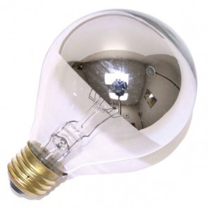 Sylvania 15014  150P252SB 120V 60/CS 6/SKU 150 Watt 120 Volt A25 Incandescent Silver Bowl, Medium (E26) Base, 2850K