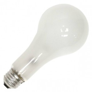 Sylvania 15243  150A23/RS-130V 150 Watt 130 Volt A23 Incandescent Rough Service, Medium (E26) Base, Warm White 2850K