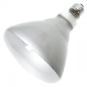 Sylvania 15292  65BR/FL-130V 65 Watt 130 Volt BR40 Incandescent, Medium (E26) Base, Warm White 2850K