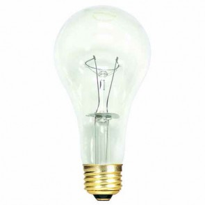 Bulbrite 101151 150A/CL/HL 150 Watt High Lumen Incandescent A21, Medium Base, Clear