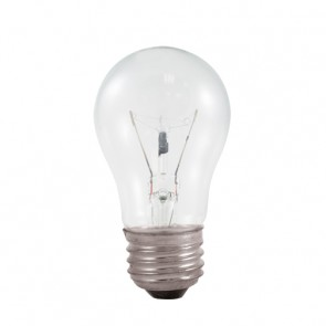 Bulbrite 104125 25A15C 25 Watt Incandescent  A15 Fan Bulb, Medium Base, Clear