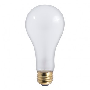Bulbrite 100201 200A/HL 200 Watt High Lumen Incandescent A23, Medium Base, Frost