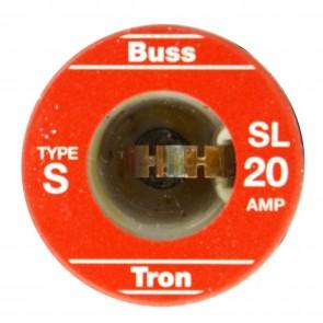 Sunlite 37205 SL20/4PK 20 Amp Rejection Base Fuse, 4 Pack
