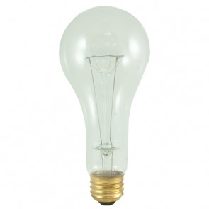 Bulbrite 101201 200A/CL/HL 200 Watt High Lumen Incandescent A23, Medium Base, Clear