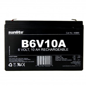 Sunlite 40000 B6V10A  Emergency Back-Up Battery