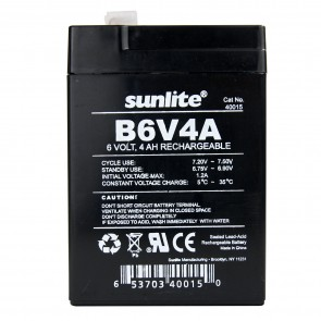 Sunlite 40015 B6V4A  Emergency Back-Up battery