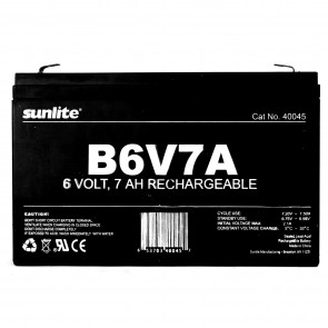 Sunlite 40045 B6V7A  Emergency Back-Up battery