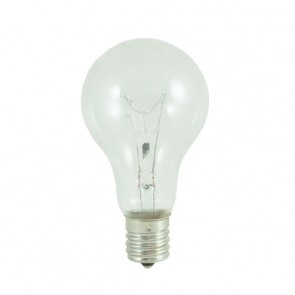 Bulbrite 104241 40A15C/E17 40 Watt Incandescent A15 Fan Light, Intermediate Base, Clear