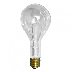Bulbrite 101300 300PS25CL 300 Watt Incandescent General Service PS25, Medium Base, Clear