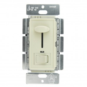 Sunlite 55150 E1030/I  Slide Dimmer with LED/On/Off Switch, Ivory