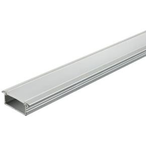 Sunlite 60402 Aluminum Profile Housing With Frosted Cover For Strip Lights 6.5ft Long